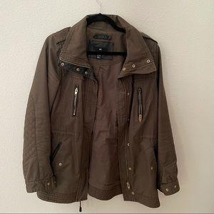 Olive H&M jacket size 8